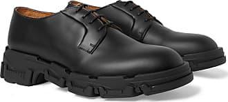 Lanvin Leather Derby Shoes - Black