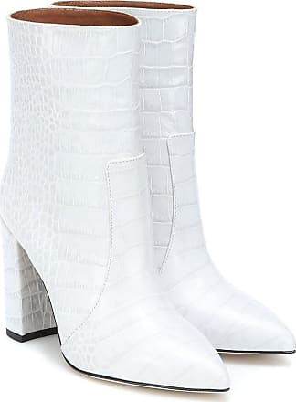 PARIS TEXAS Exclusive to Mytheresa - Snake-effect ankle boots