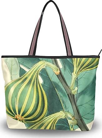 Lorona Women Fig Canvas Shoulder Hand Bag Large Capacity Tote Bag