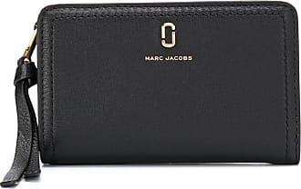 Marc Jacobs Top zip wallet in black leather