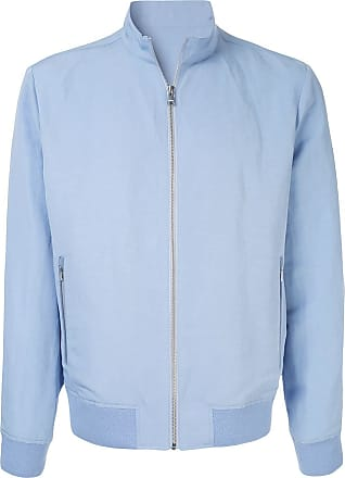 Durban zipped bomber jacket - Blue