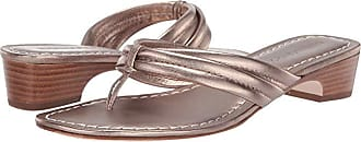 Bernardo Miami Demi Heel Sandals (Platinum Antique Calf) Womens Wedge Shoes