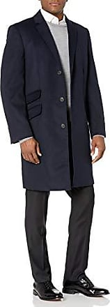 Hart Schaffner Marx Mens Spencer Cashmere-Blend Top Coat