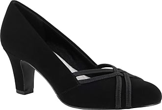 Easy Street Womens Orlene Black Lamy 9 M US, Black Suede, Size 6.5 US / 4.5 UK US