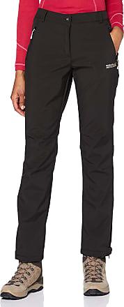 Regatta Great Outdoors Womens/Ladies Geo Softshell II Short Leg Trousers (16) (Black)