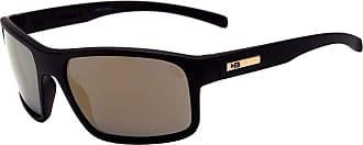 HB Óculos de Sol Hb Overkill Matte Black I Gold Chrome