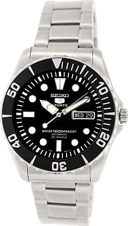 Seiko Mens SNZF17K Seiko 5 Stainless Steel Watch, 42mm