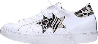 2Star 2Star 2622 Low Sneaker White Spotted Beige White Size: 4 UK