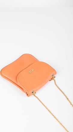 GCDS Leather Micro Necklace Bag size Unica