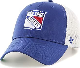 47 Brand 47 NHL New York Rangers Branson MVP Trucker Cap - Cotton Mesh Trucker Unisex Baseball Cap Premium Quality Design and Craftsmanship by Generational Fam