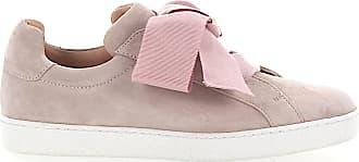 Unützer Low-Top Sneakers calfskin suede rose
