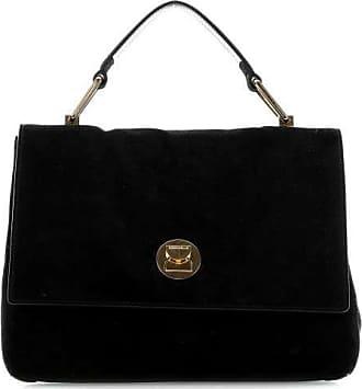 d0464345fa47d Coccinelle Liya Suede Handtasche schwarz