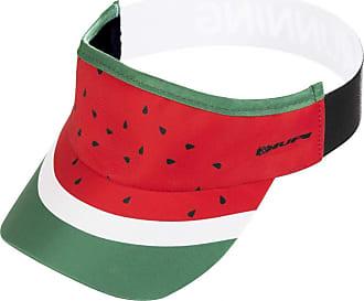 Hupi Viseira para Corrida Hupi Melancia, Cor: Vermelho/verde, Tamanho: Único