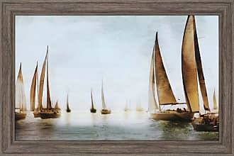 Paragon Picture Gallery Paragon Golden Sails Framed Wall Art - 1689