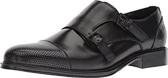 Kenneth Cole Reaction Mens Zac Monk-Strap Loafer, Black, 9.5 M US