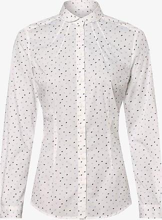 Seidensticker Klassische Bluse »schwarze Rose« Popeline Hellblau-weiß-gestreift