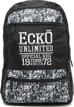 Ecko Mochila Ecko Official Preta/Cinza