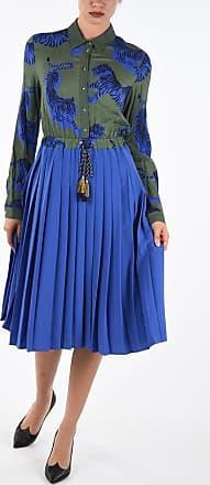 Just Cavalli Printed Knife Pleated Dress size 36
