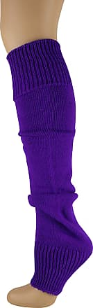 MySocks Leg Warmers Plain Electric Purple