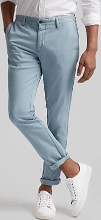 Hackett Mens Kensington Fit Raised Twill Cotton Chino Trousers | Size 36R0 | Oatmeal Beige
