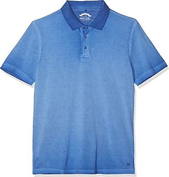 a9ee837b9daffb Pierre Cardin Herren Poloshirt Premium Cotton Pique Cold Dyed Denim Academy  Poloshirt