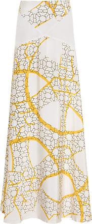 The Crocale Naz Silk Maxi Skirt