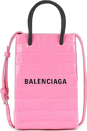 Balenciaga Tote Shopping Phone aus Leder