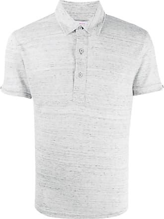 Orlebar Brown Camisa polo mangas curtas - Cinza
