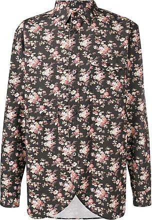 Han Kjobenhavn Camisa com estampa floral - Preto