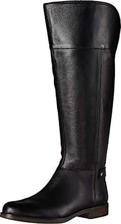 Franco Sarto Womens Christine Wide Calf Equestrian Boot, Black, 5 M US