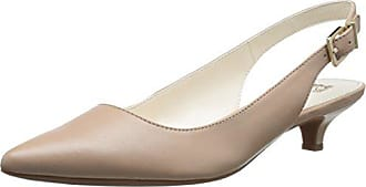 Anne Klein Womens Expert Dress Pump, Natural, 5.5 M US