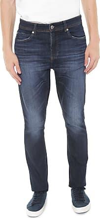 100a007408d Lacoste Calça Jeans Lacoste Slim Estonada Azul