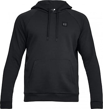 Under Armour Rival Fleece Pullover Hoody Cotton 80 Funktionsshirts für  Herren   schwarz 8447de7343