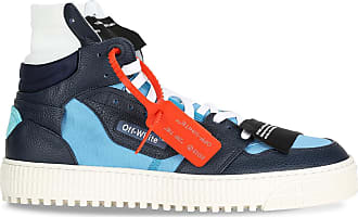 Off-white Blue and light blue sneaker with arrows