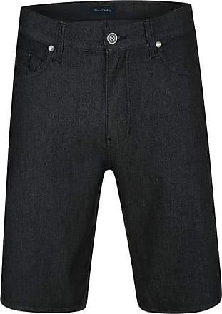 Pierre Cardin Bermuda Jeans Active Preta 46