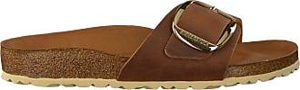 Birkenstock Cognac Birkenstock Papillio Slippers Madrid Big Buckle
