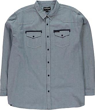 Firetrap Mens Italica Shirt Blue XXXL
