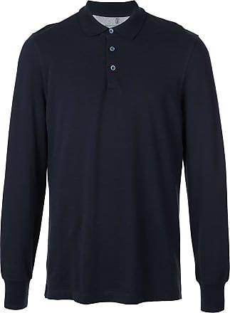 Brunello Cucinelli Camisa polo - Azul