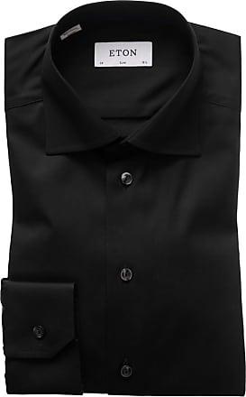 Eton Oberhemd, Slim-Fit von Eton in Schwarz für Herren