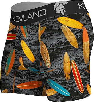Kevland Underwear CUECA BOXER BLACK SEA KEVLAND (1, GG)