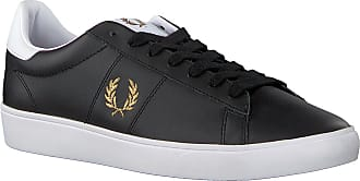Fred Perry Schwarze Fred Perry Sneaker Low B8255