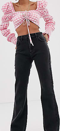 Reclaimed Vintage The 99 flare jean in washed black