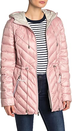 French Connection Women/'s Quilted Chevron Packable Puffer Jacket
