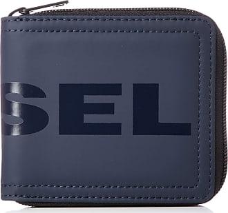 Diesel Shoes Zippy Hiresh S Mens Wallet, Blue (Blue Nights), 2x9.5x11.5 centimeters (W x H x L)