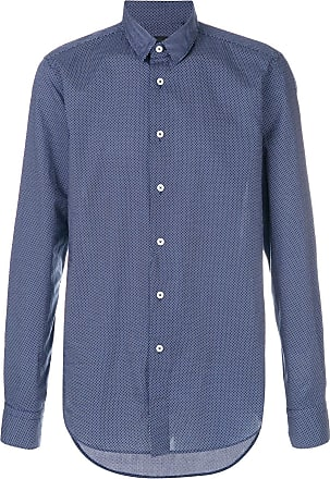Dell'Oglio long sleeved button up shirt - Azul