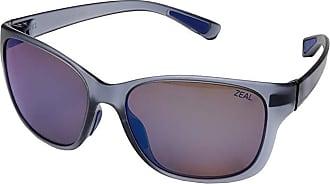 Zeal Optics Magnolia (Matte Smoke w/ Polarized Horizon Blue Lens) Athletic Performance Sport Sunglasses
