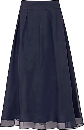Uta Raasch Skirt in 100% silk Uta Raasch blue