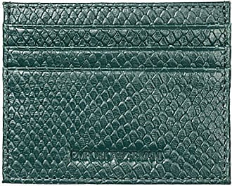 Emporio Armani Credit Card Holder, Green