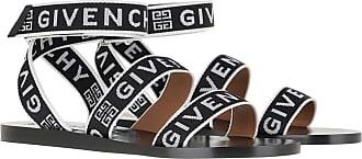 Givenchy Sandals - 4G Webbing Sandals Black White - black - Sandals for ladies