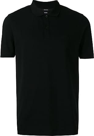 HUGO BOSS Camisa polo clássica - Preto